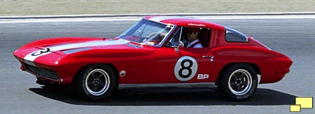 1963 Corvette in race trim