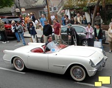 Pebble Beach Concours d'Elegance: The Tour, 2008