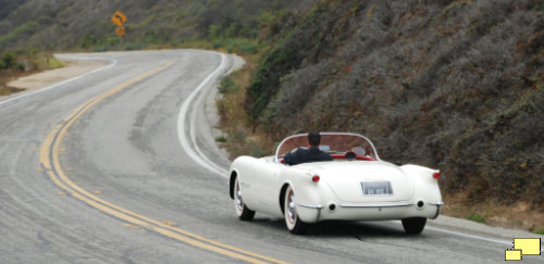 1953 Corvette C1 EX 122 Curvy Road