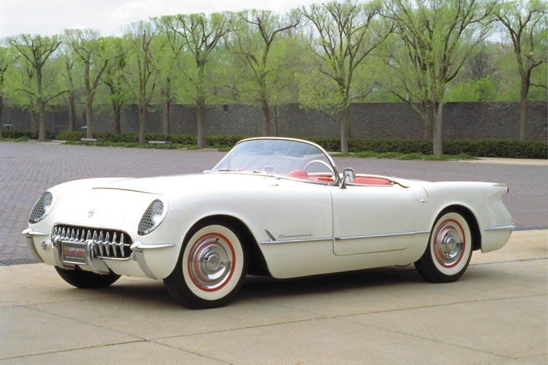 1953 Corvette C1 Modest Beginnings
