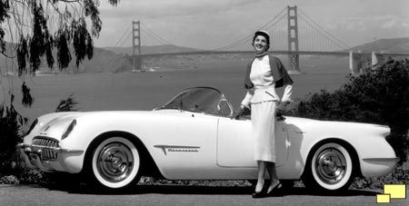 1953 Corvette EX-122 in San Francisco CA