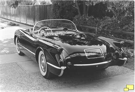 1954 Corvette in Black