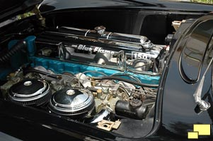 1954 Corvette Engine