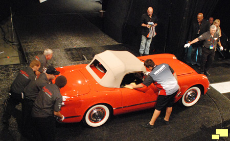 1955 Chevrolet Corvette C1 at Barret-Jackson Auction