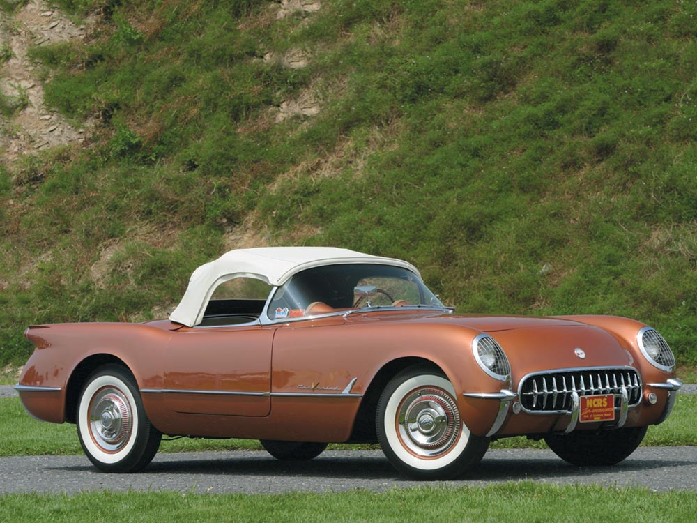 1955 Chevrolet Corvette C1 The Corvette Finds Its Groove