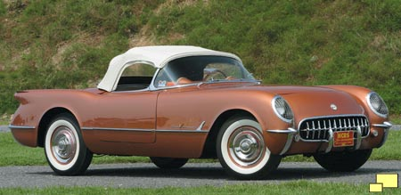 1955 Chevrolet Corvette C1 in Corvette Copper