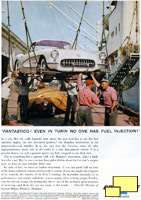 1957 Chevrolet Corvette C1 Fuel Injection Print Advertisement