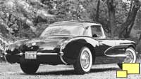 1957 Corvette GM Photograph