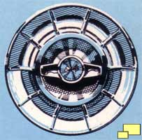 1957 Corvette wheel cover