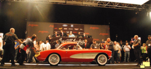 1957 Corvette C1 Fuel Injection Barrett Jackson