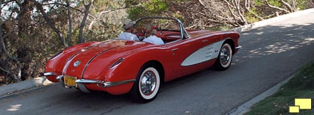 1958 Corvette, Signet Red