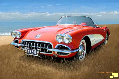 Vette Day -- 1958 Corvette by Roger Hector