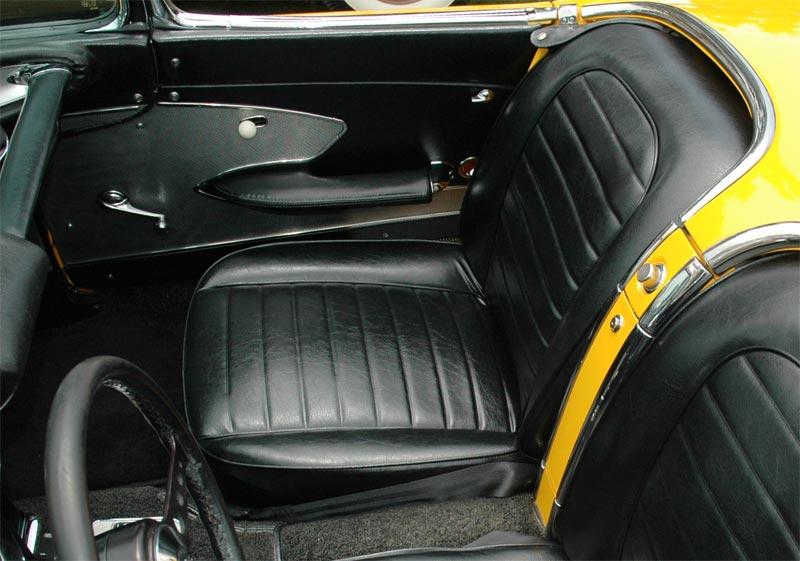 1959 Corvette C1 New Quad Headlight Body Style Loses The