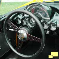 1959 Chevrolet Corvette C1 dashboard