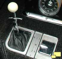 1958 Corvette shifter T-Handle