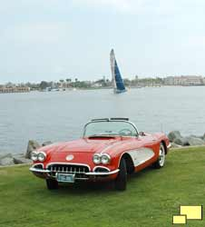 1960 Chevrolet Corvette C1 in Roman Red