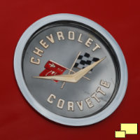 1962 Corvette C1 Trunk Badge