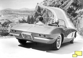 1962 Chevrolet Corvette, GM Publicity Photo