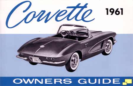 1961 Corvette owner's manual