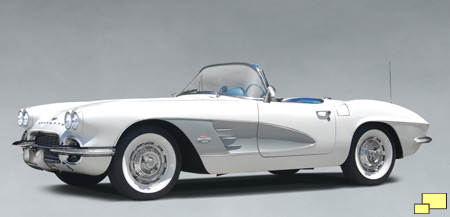 1961 Chevrolet Corvette, Photo Illustration courtesy Dominic Lucas