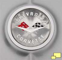 1961 Corvette Badge
