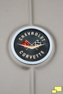 1960 Corvette C1 Trunk Badge