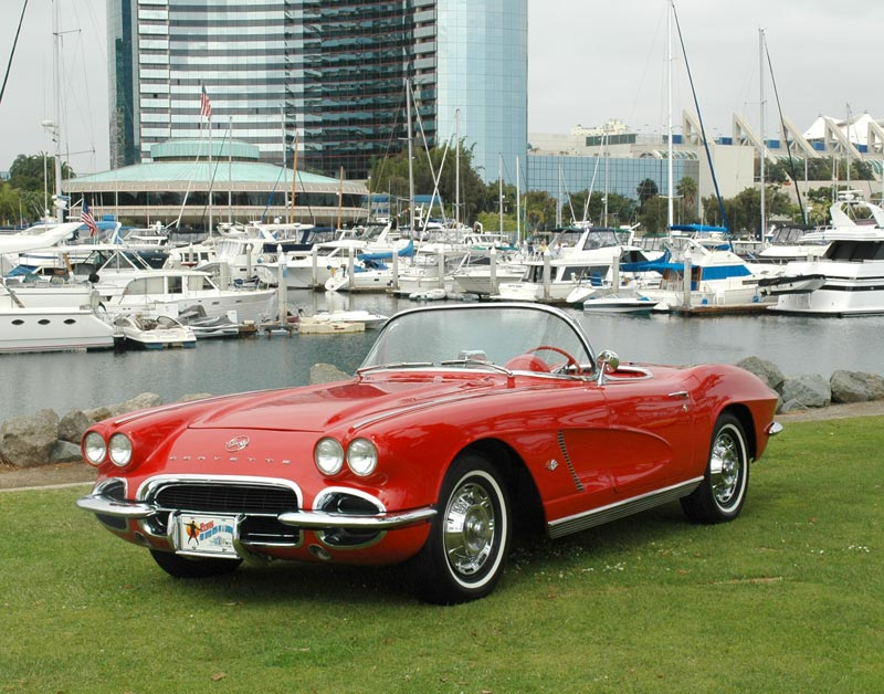 2008 Corvette For Sale >> 1962 Corvette C1: Styling Updates and The End of an Era