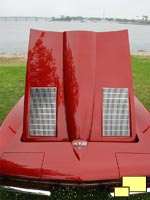 1963 Only Non Functional Hood Louvers