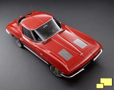 1963 Chevrolet Corvette C2 Sting Ray Coupe. Color: Riverside Red