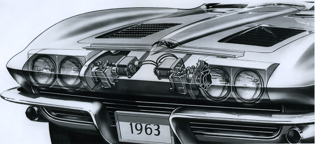 1963 Corvette Stingray C2 Styling Details Brochure