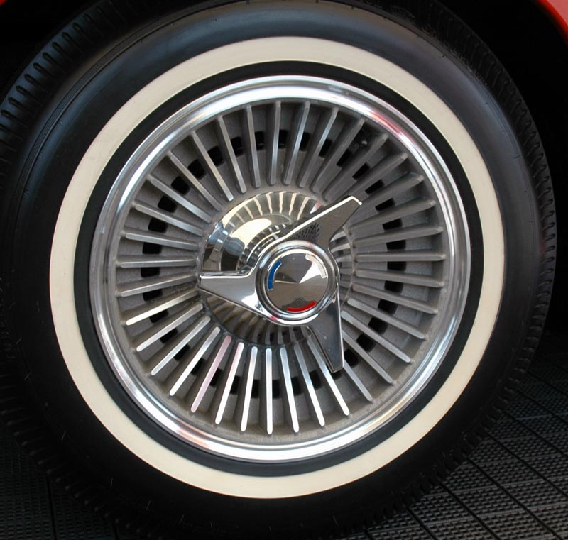 1963 Corvette Stingray C2 Production Quantity And Wheel