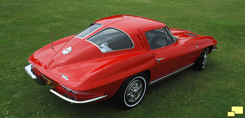 1963 Chevrolet Corvette Sting Ray Coupe, Riverside Red