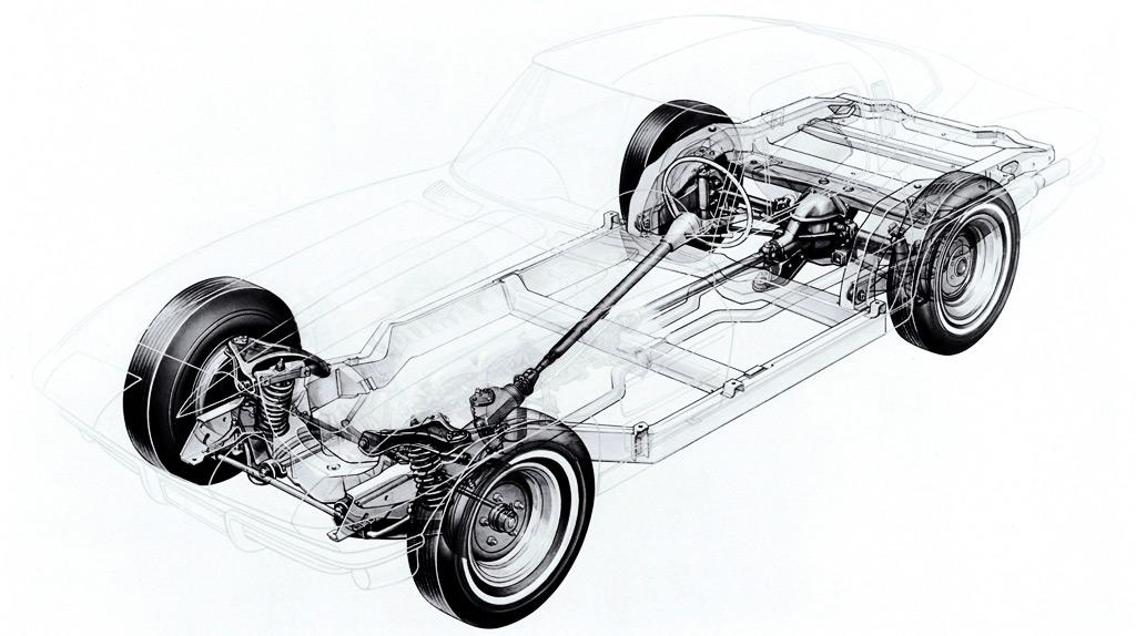 1963 corvette c2 chassis details