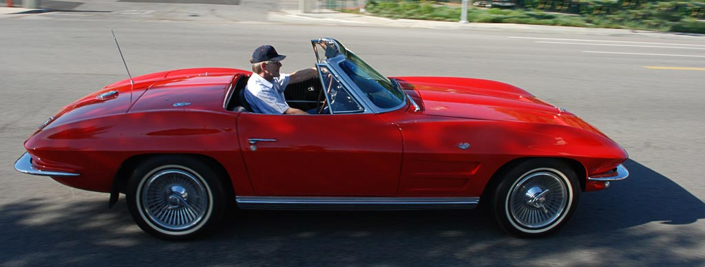 1964 Chevrolet Corvette Stingray C2 Color Riverside Red