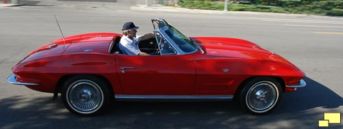 1964 Corvette Convertible in Riverside Red