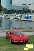 1964 Corvette Coupe in Riverside Red