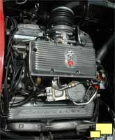 1965 fuel injected Corvette Stingray engine