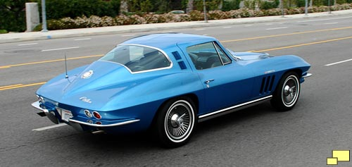 1965 Corvette Coupe in Nassau Blue