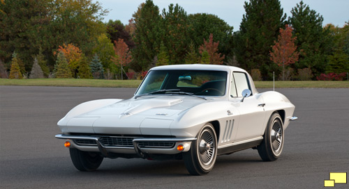 1966 Corvette Stingray, Color: Ermine White
