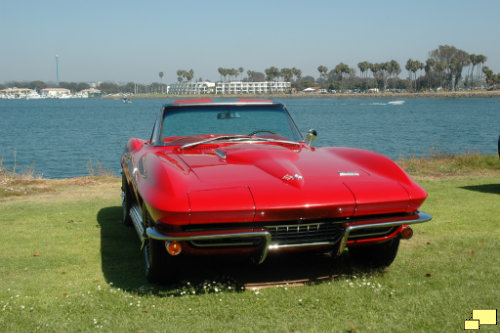 1966 Corvette C2 Rally Red Zoom Lens