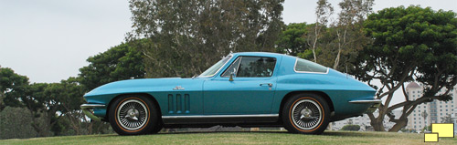 1966 Corvette Stingray, Color: Nassau Blue