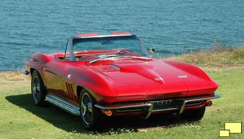 1966 Corvette Stingray in Rally Red