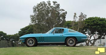 1966 Corvette Coupe in Nassau Blue