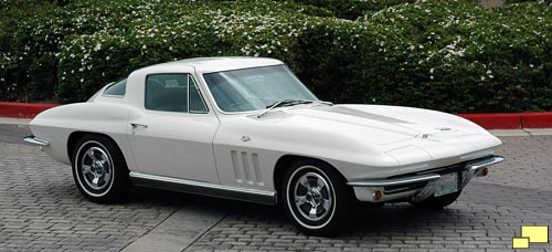1966 Corvette Coupe in Ermine White