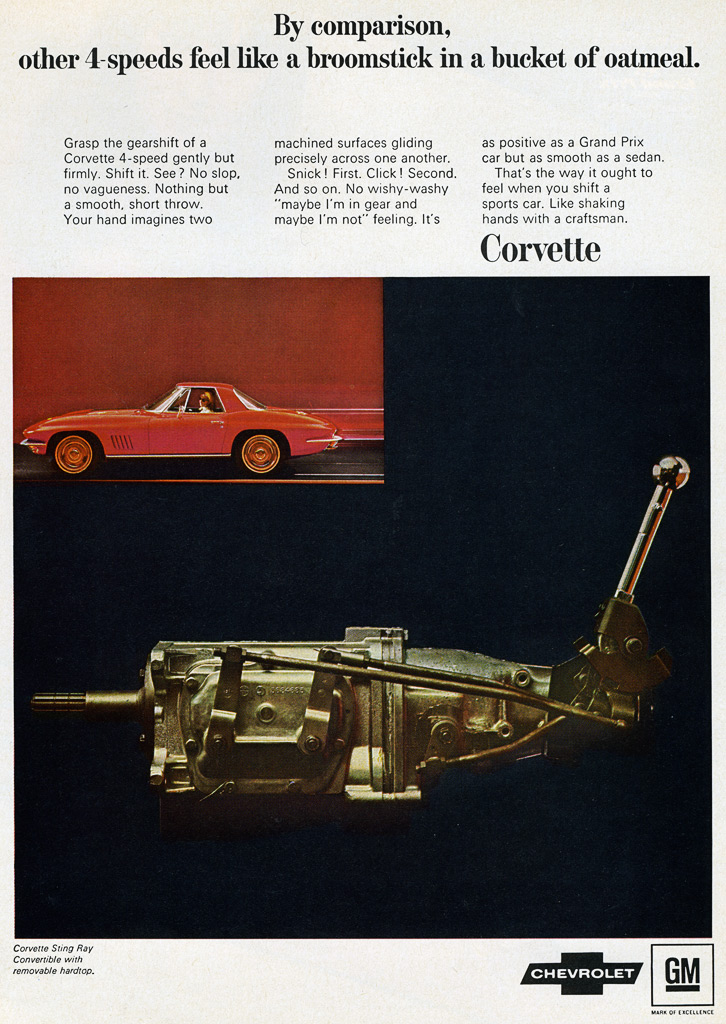 Corvette Stingray Ad Print Html Autos Post