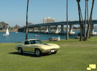 1967 Corvette Coupe C2 Tree Roof