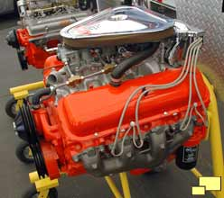 1967 Corvette Stingray L71 Engine