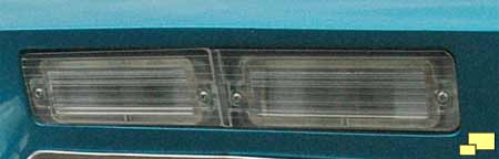 1967 Corvette Stingray back-up light