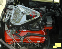 1967 Corvette Stingray Big Block engine