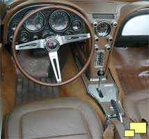 1967 Corvette Stingray Saddle Interior